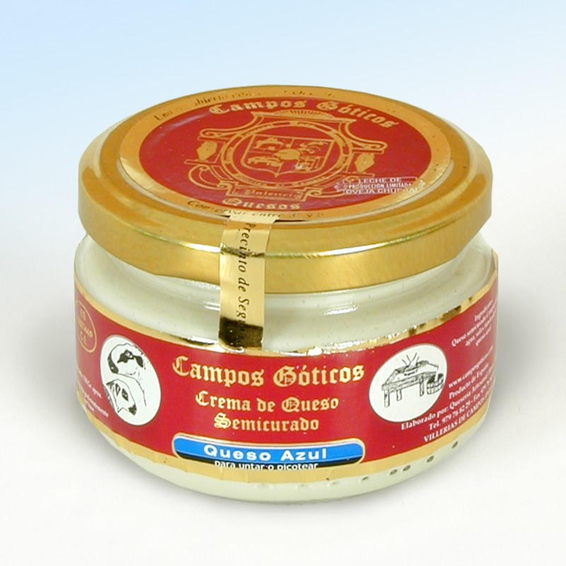 Crema de Queso con sabor a queso azul Campos Góticos