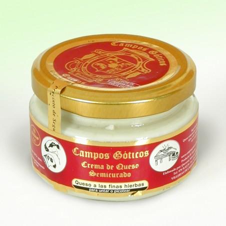 Crema de Queso a las finas hierbas Campos Góticos